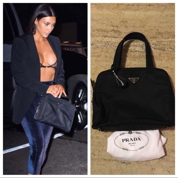 17275c5cf74733 Prada Bags | Like New Vintage Nylon Satcheltote Bag | Poshmark